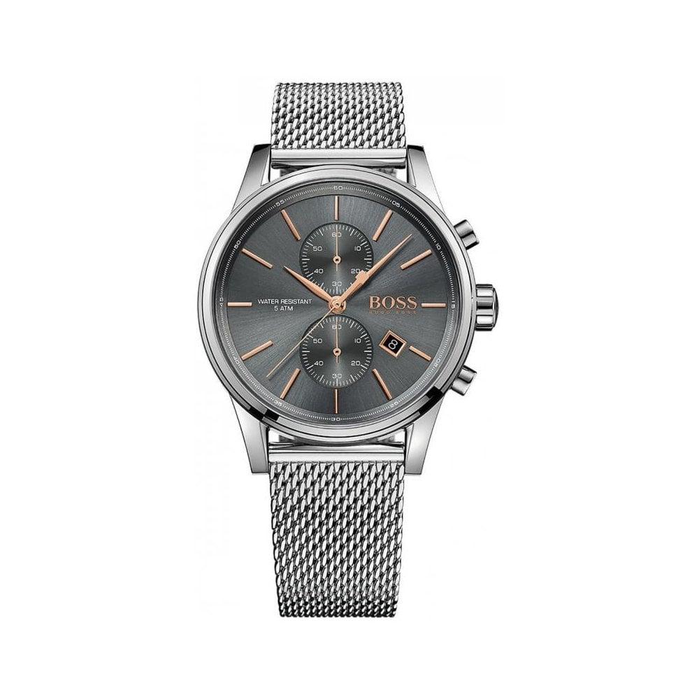 0b19423edebf Hugo Boss HB 1513440 Mens Jet Chronograph Watch - Mens Watches from ...