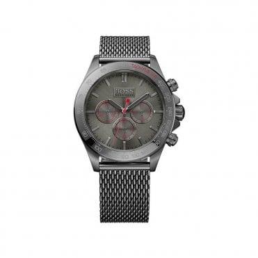 a6761768eda Hugo Boss HB 1513443 Mens Gunmetal Chronograph Watch