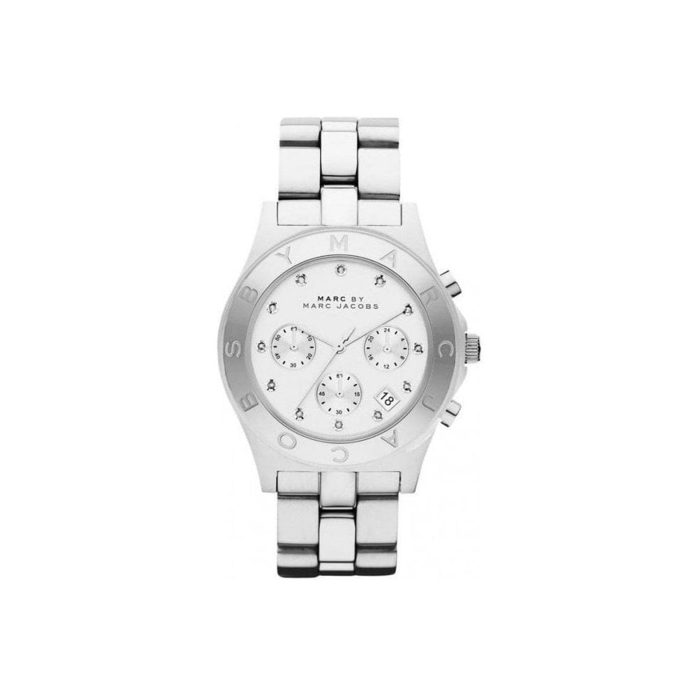 Mbm3100 Ladies Silver Blade Watch