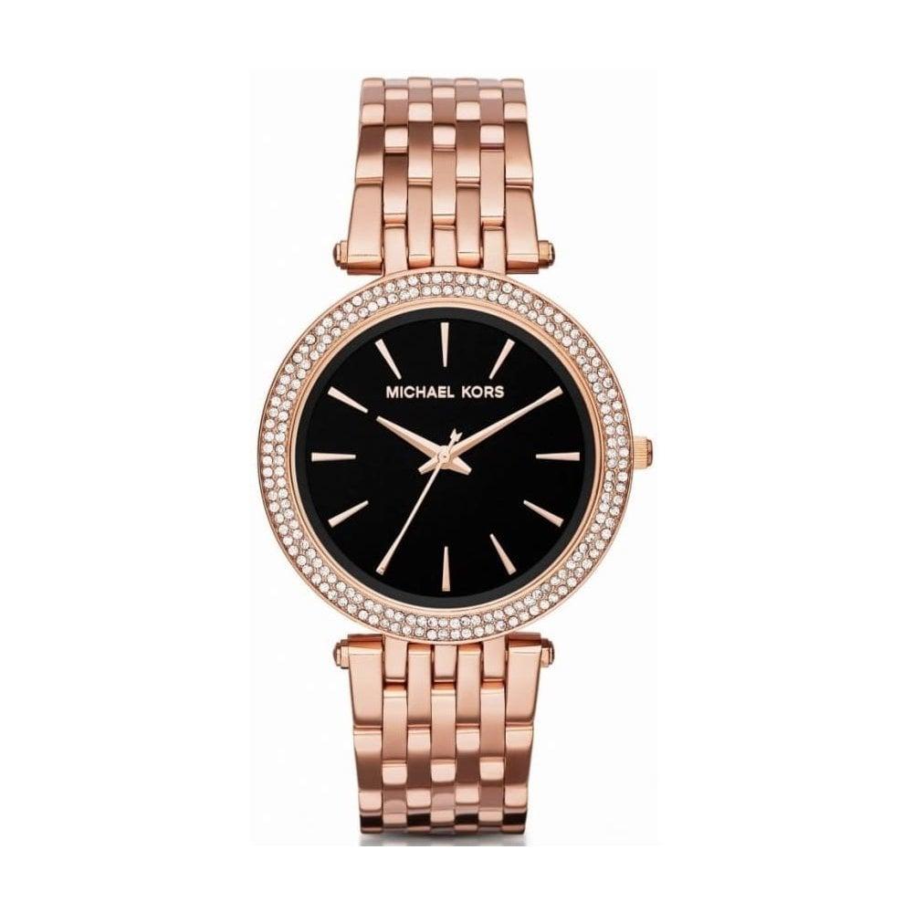 Michael Kors MK3402 Ladies Rose Gold Darci Watch - Womens Watches from Watch  Bazaar UK