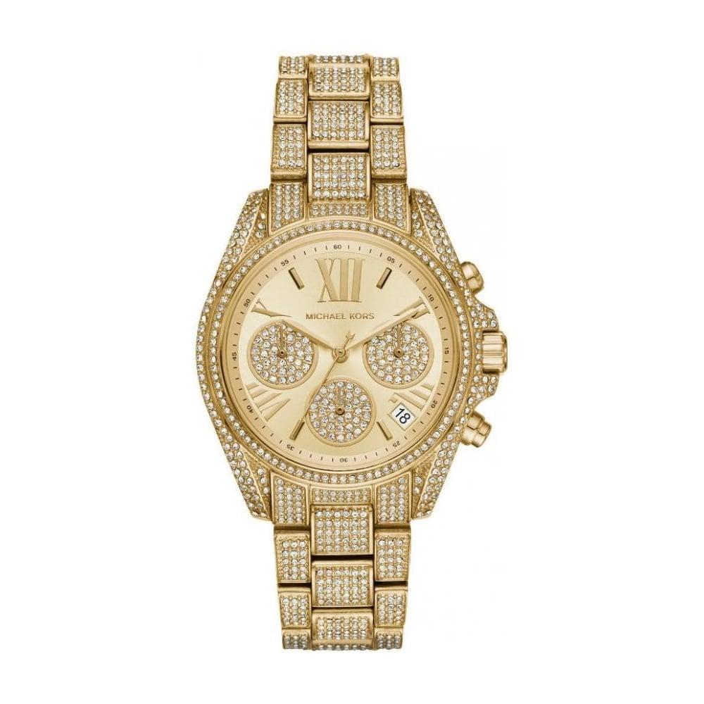 c130f298b71c Michael Kors MK6494 Mini Bradshaw Pave Watch - Womens Watches from ...